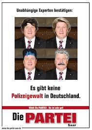 Check spelling or type a new query. Die Partei Saar Bestatigt Keine Polizeigewalt In Deutschland Facebook