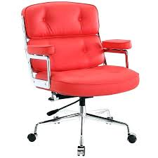 red leather office chair. Red Office Chairs Canada Low Back Modern Chair Leather I