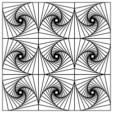 Small Picture Fancy Optical Illusion Coloring Pages 72 About Remodel Coloring