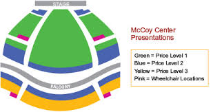 Buy Tickets Mccoy Center For The Arts