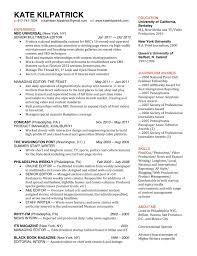 digital journalist resume template digital journalist resume