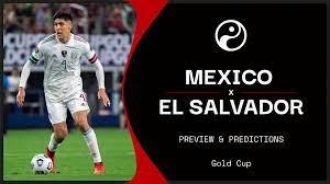 Mexico vs El Salvador live stream ...