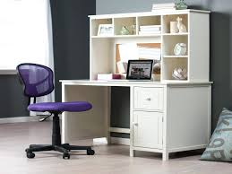 white small desk s leather office chair corner with drawers computer canada