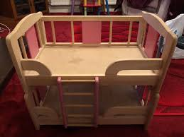 wooden dolls bunkbed 1 of 5 see more