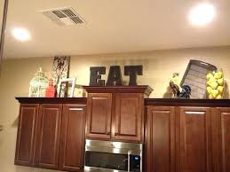 interior decorating top kitchen cabinets modern. Tips Decorating Above Kitchen Cabinets My Modern Inside Cabinet Top With  Regard To Plan 18 Interior Decorating Top Kitchen Cabinets Modern K