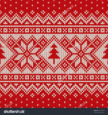 Christmas Pattern Sweater Custom Decorating Design