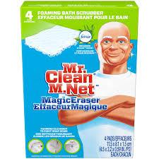mr clean magic eraser bathtub cleaner scrubber sponge 4ct com