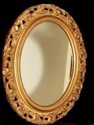 1700 1800 luxurious antique wood wall mirror