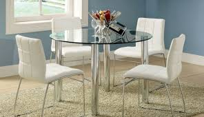 large glass clearance dining table modern white and small for inch set room seater sets top