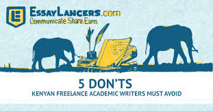 don ts n lance academic writers must avoid biashara academic writing