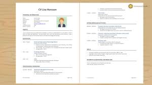 Linda Raynier Resume Sample How to write a powerful CV YouTube 3