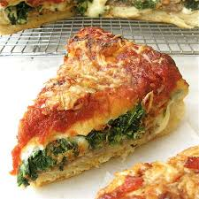 possibly authentic though maybe not chicago style stuffed pizza