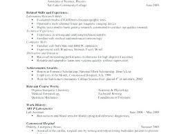 Undergraduate College Resume Template College Cv Template