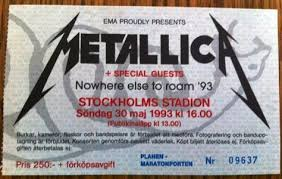 Metallica Iowa Speedway Seating Chart Pin By Glen Ellis On Programs Tours Tickets Metallica