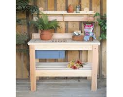 Potting Table Cypress Potting Table