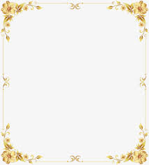 gold frame border png.  Border Gold Border Shading Gold Frame Material Frame Shading PNG Image And  Clipart To Border Png O