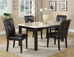 Granite Top Kitchen Table And Chairs Marble Dining Room Furniture Ideas