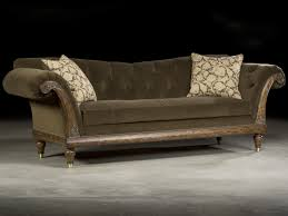 Luxury Couch Luxurious Tufted Velvet Carved Sofa Luxurious Decor