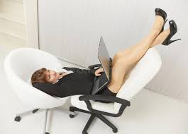 funny office chairs. download woman funny located in office chairs with laptop stock photo - image of fine,