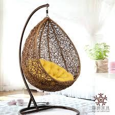 inside hanging chair furniture rattan basket rocking swing chair pertaining to hanging basket chair decorating teenage room hanging chair