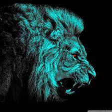 green lion Ultra HD Desktop Background ...