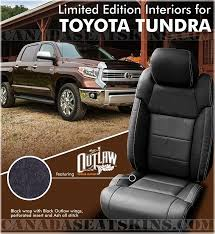 2016 2017 toyota tundra outlaw leather interior s
