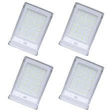 Solar Powered Automatic Lights Solar Powered Wall Lights Outdoor 30led 4 Pack Solar Motion Sensor Lights Wireless Security Waterproof Automatic Lighting For Patio Back Yard Garden