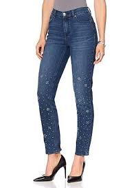 Dg2 Jeans Size Chart Diane Gilman Dg2 570 469 Womens Size 8 Blue Stretch Embellished Skinny Jeans