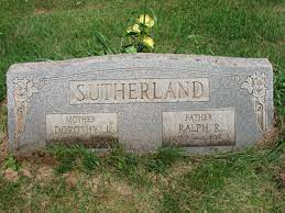 Dorothy Jane Riggs Sutherland (1892-1954) - Find A Grave Memorial