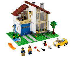 Lego 31012 - Đồ chơi Lego 31012 Family House xếp hình ngôi...