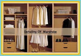 wardrobe 8 feet. detailing of wardrobe 15 8 feet