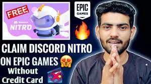 How To Claim *DISCORD NITRO* Without Credit Card on EPIC GAMES STORE😱🔥  [Detailed Video] - YouTube