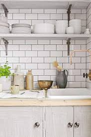 Kitchens With Open Shelving Kitchen Masterclass How To Style Open Shelving