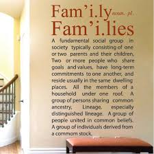 Family Definition Wall Decal Quote Trendy Wall Designs Best Wall Decal Quotes