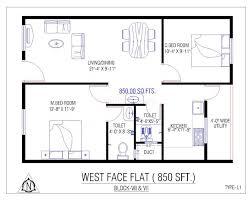 2 bhk west facing 9 super area 850 sq ft apartment
