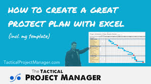 Sample Project Plan Excel An Excel Based Project Plan Your Boss Will Love