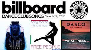 3 Radikal Records Singles In The Billboard Dance Club Chart