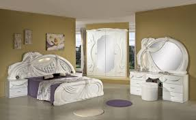italian white furniture. gina white italian classic bedroom set made in italy furniture t