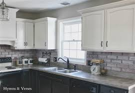 Painted White Kitchen Cabinets Gray Kitchen Cabinets With Black Countertops Quicuacom