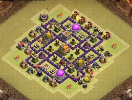 Base 7 12 Best Th7 War Base Anti Dragons 2019 New Clash Of