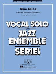 Free Christmas Jazz Combo Charts Blue Skies Key Cmi Hal Leonard Online