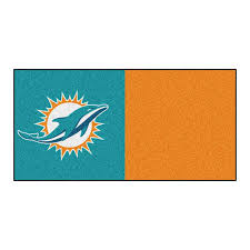 fanmats 20 pack 18 in x 18 in dolphins purple teal textured