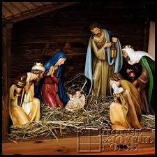 christmas stable. Fine Christmas Michael Designed And Built The Stable I Stained It   That So  Beautifully Displays These Exquisite Figurines Depicts Well Birth Of Our  Intended Christmas Stable A