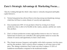 final zara marketing strategy zara s strategic