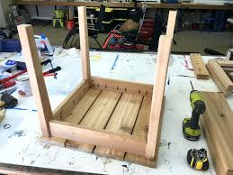 side table wood patio side table plans diy outdoor side table plans rogue engineer 5