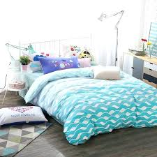 mint green bed set sea green bedding hipster turquoise blue white and mint green sea wave