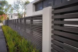 Gates Horizontal . Modern Horizontal Fence ...