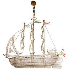 sicilian crystal ship chandelier for