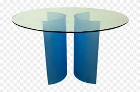 a 48 round round caroo glass dining table coffee table