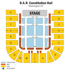 Dar Constitution Hall Seating Chart All Inclusive Dar Constitution Hall Seating Chart View Dar